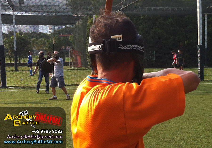 Epic showdown!? Archery Tag for Ministry of Manpower Singapore