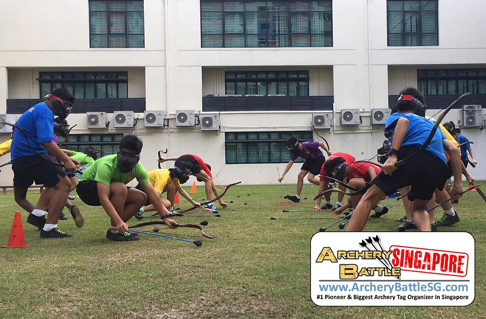 Competitiveness in Archery Tag Singapore