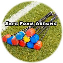 Safe Foam Arrows used in Archery Tag Singapore