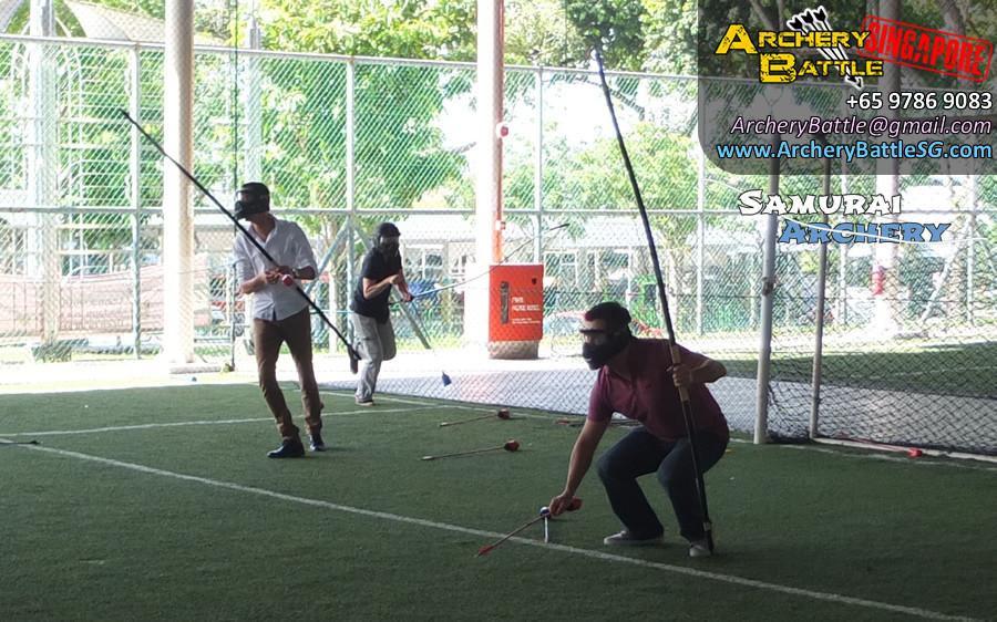 Teamwork - Samurai Archery Tag Singapore