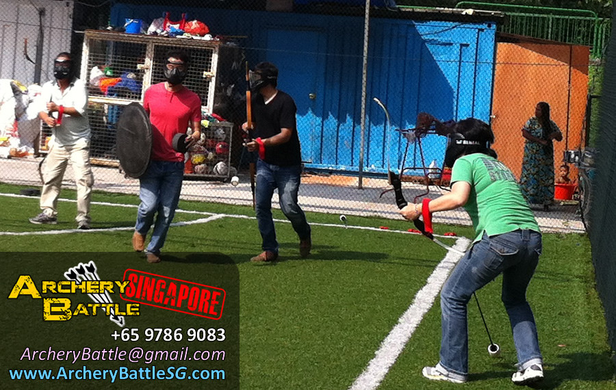 Special mission! Archery Tag for Ministry of Manpower Singapore