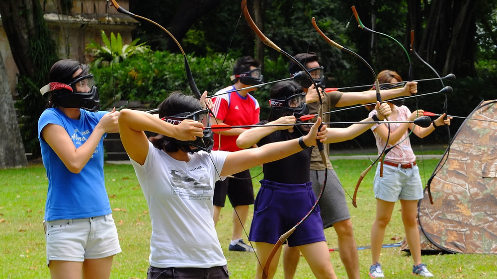 Archery Tag Singapore Corporate Team Building Events