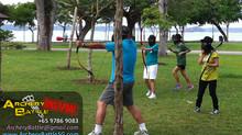 Archery Tag for Methodist Girls' School at Changi Beach Park
