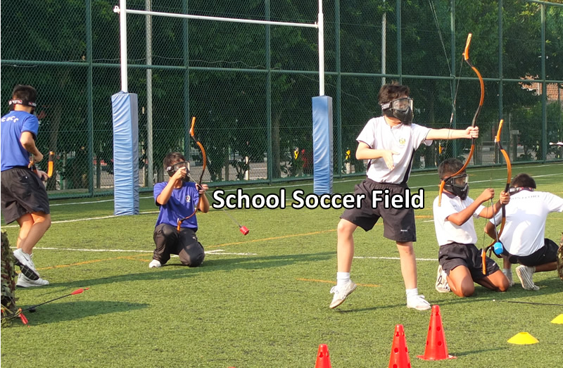 School Soccer Field