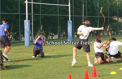 School Soccer Field