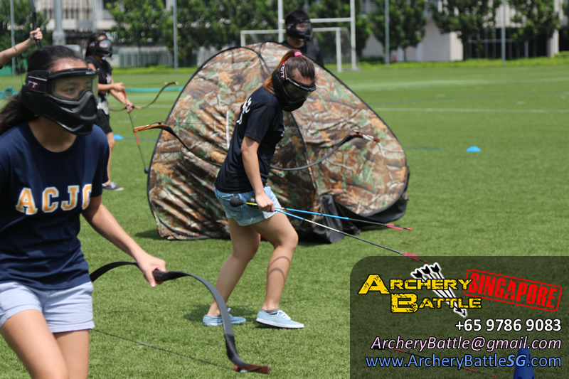 NTU Orientation 2016 - Archery Tag
