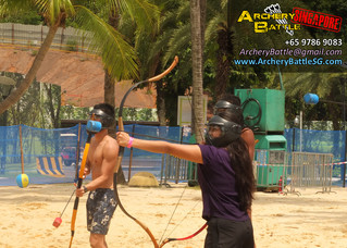 Archery Tag at Adult Playground 2014