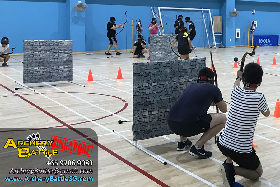 Archery Tag at Singapore Indoor Sports Hall