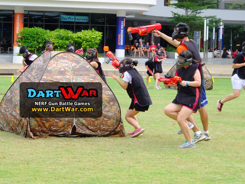 Shoot shoot shoot! NERF Team Building & Cohesion at National University of Singapore