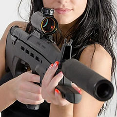 Laser Tag Singapore Assault Rifle