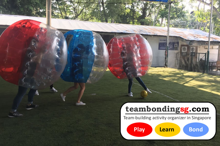 Bubble Soccer Singapore
