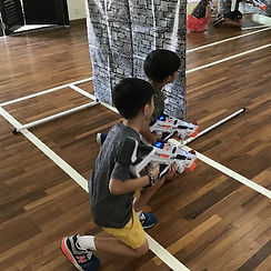 Kids Laser Tag Singapore played in multi-purpose halls