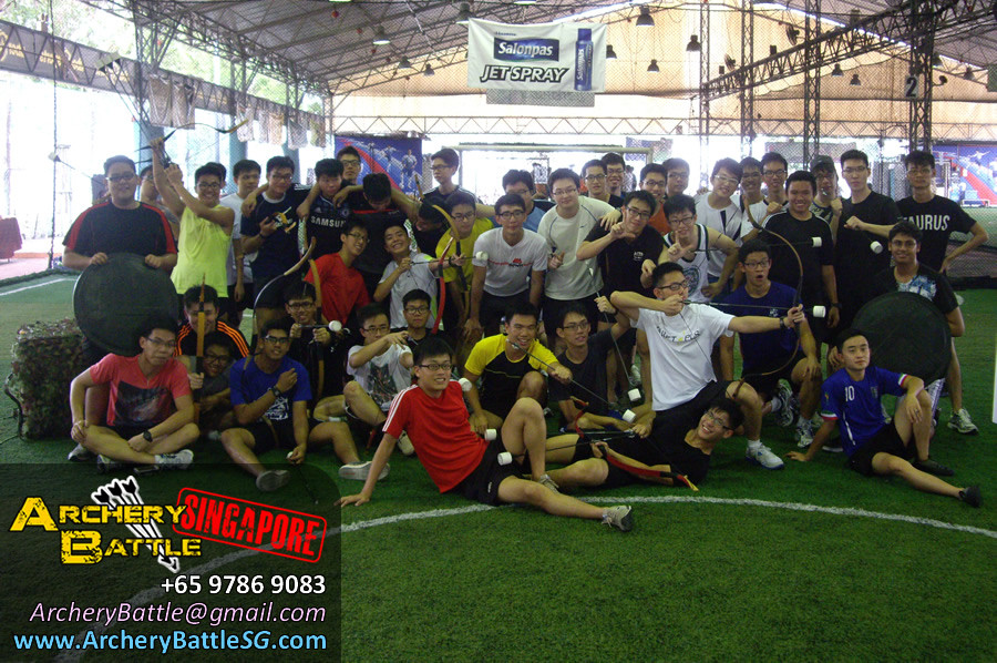 Group Photo - Archery Tag for Republic of Singapore Air Force