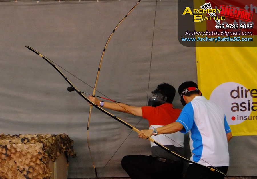 Shoot down your foes with safe foam Archery Tag arrows!