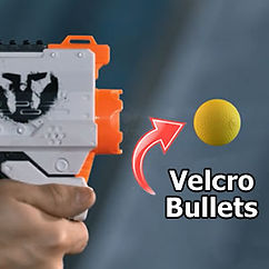 Velcro Bullets specially designed for NERF Rival guns in Singapore