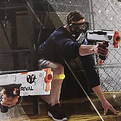 NERF Rival guns for adults' games and team building Singapore