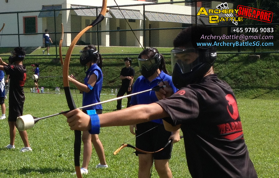 Archery Tag Singapore at Canberra Secondary School