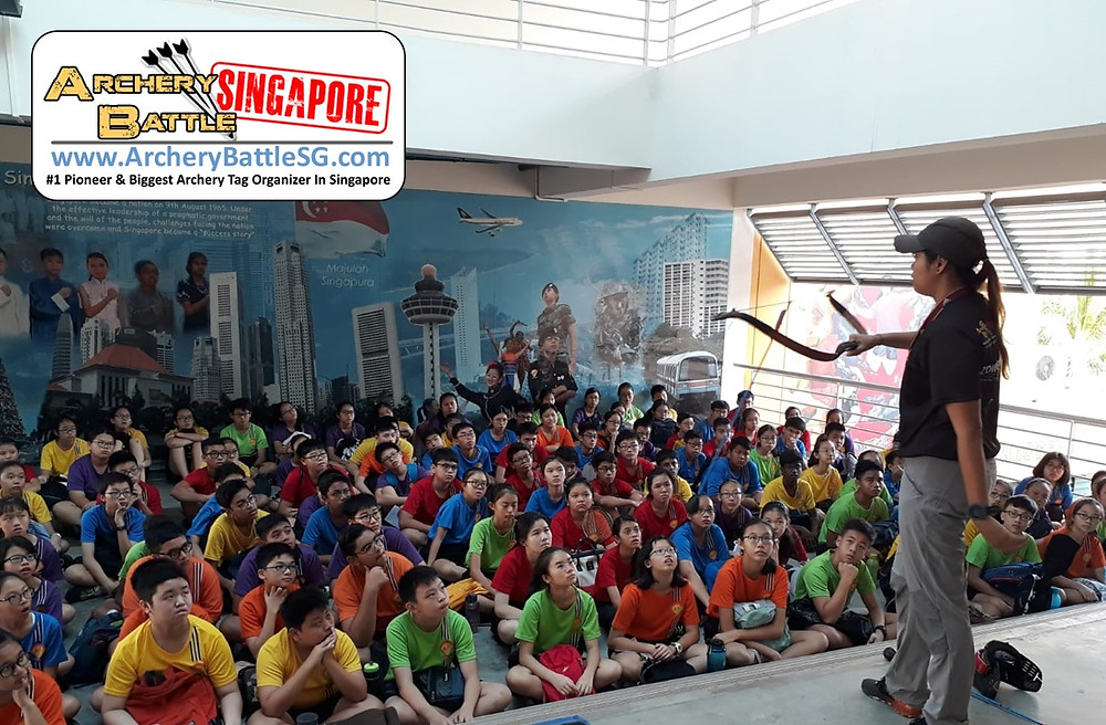 Briefing of Archery Tag game rules & safety rules