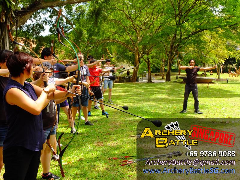 Basic Archery coaching before we start the game