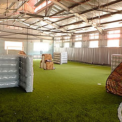 Play Laser Tag in Singapore at The Cage, near Stadium MRT Station.