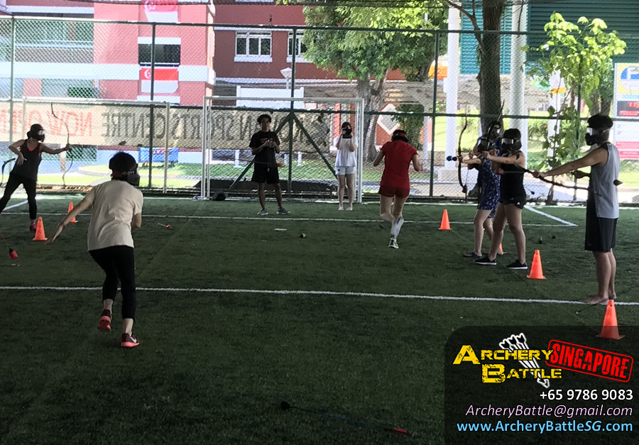Have no fear! Archery Tag Singapore