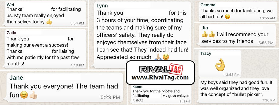 Reviews and testimonials of what others say after playing Nerf Rival Tag team buildng with us