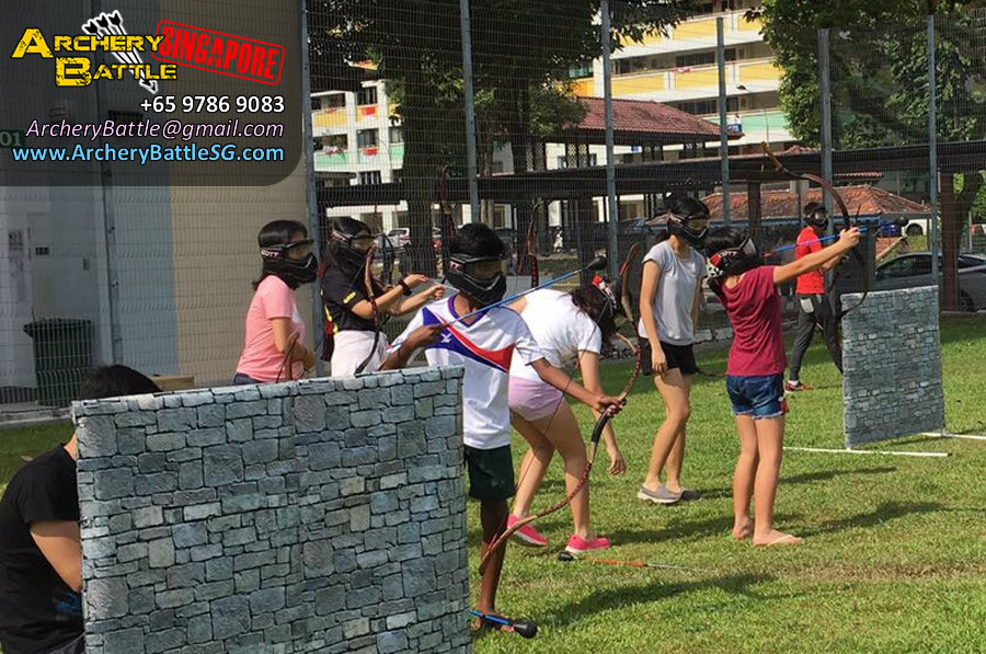 Archery Tag Singapore Carnival Event - Many players love it!