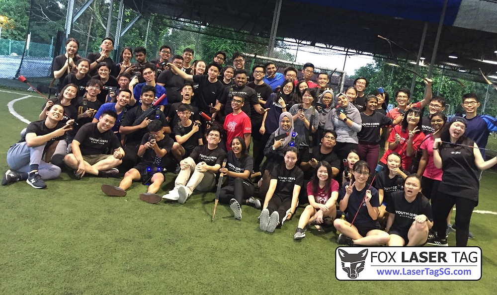 Group Photo after Laser Tag game