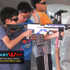 NERF Battle games for Birthday Party Singapore