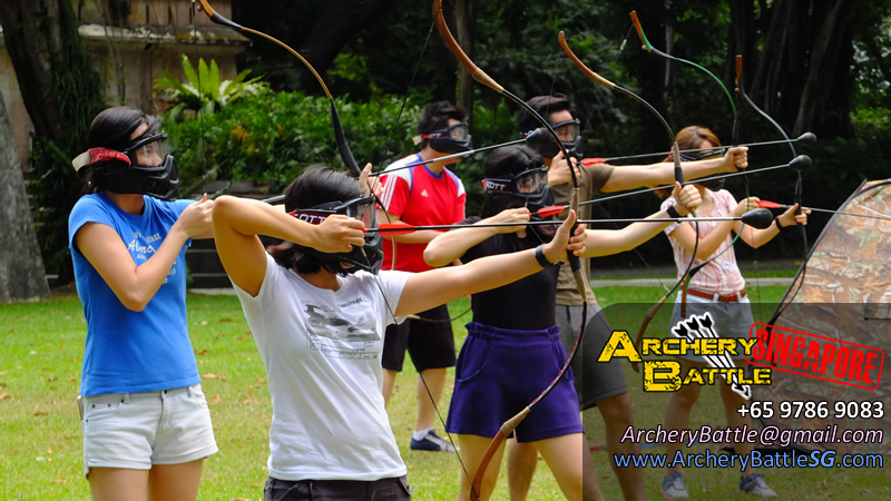 Ministry of Manpower Archery Tag