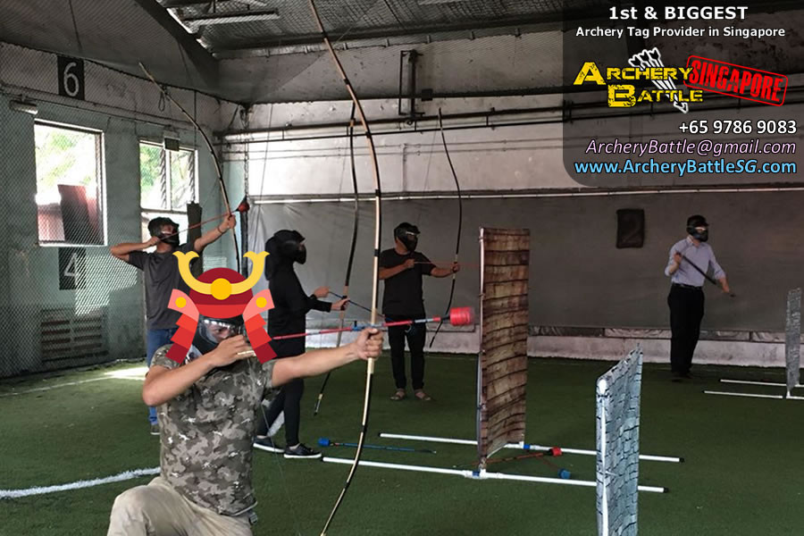 Time to fight for your honour - Samurai Archery Tag Singapore