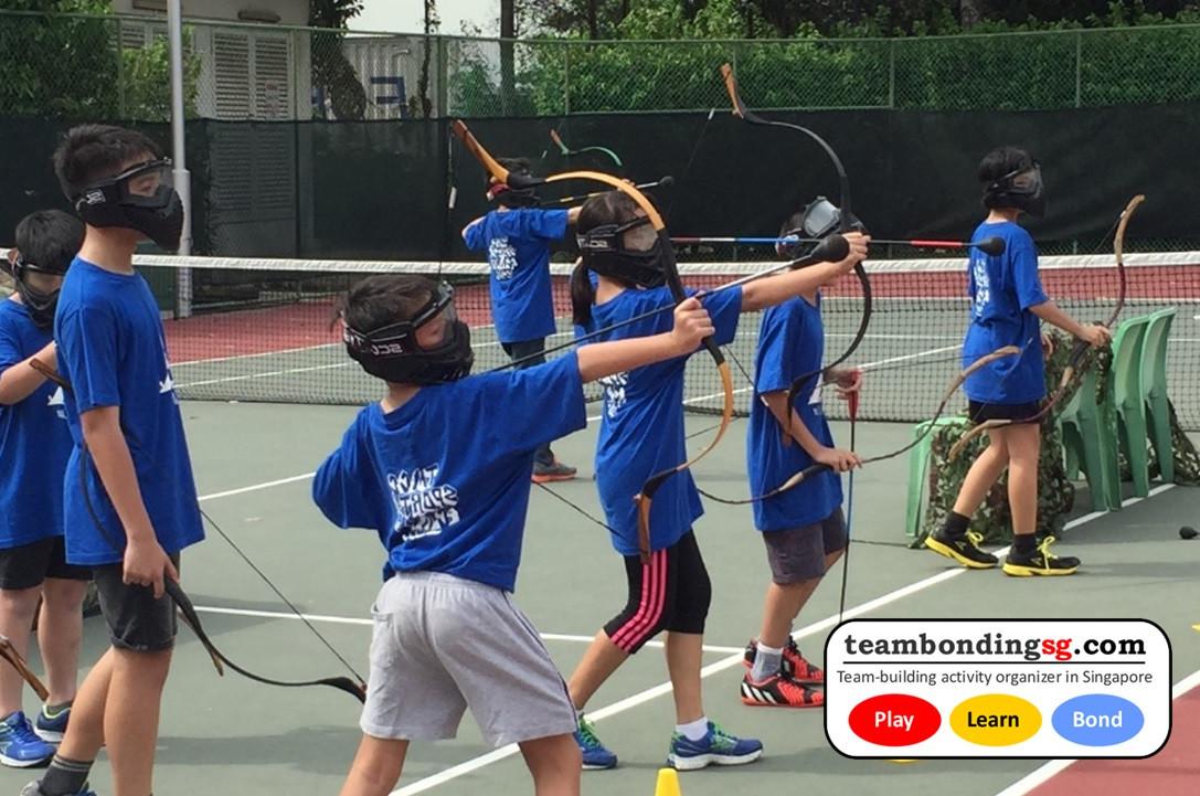 Kids Archery Tag Singapore