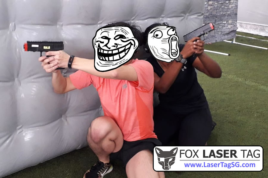 Guard left and right - FOX Laser Tag Singapore