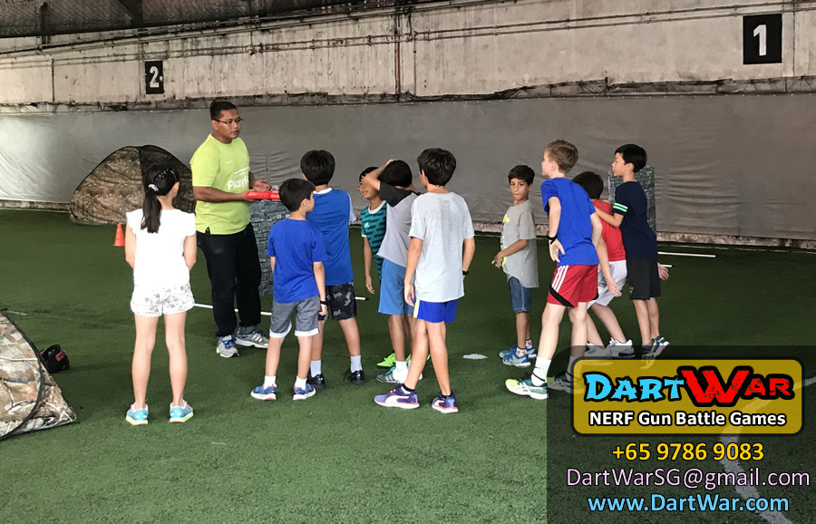 Safety Briefing | Dart War NERF Gun Birthday Party