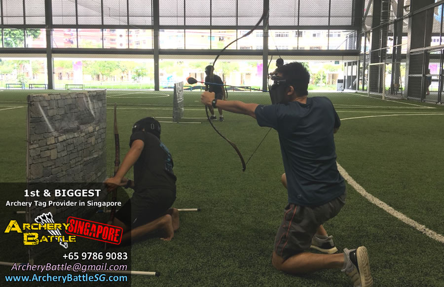 Spacious place at Tampines Hub Archery Tag Singapore