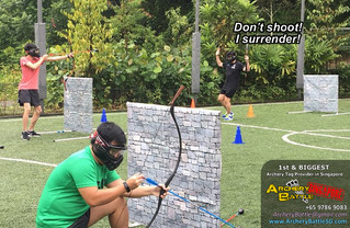 Archery Tag @ Outdoor Futsal Pitch