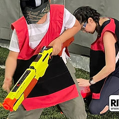 Customized package for NERF events in Singapore