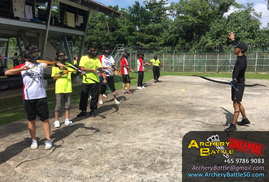 Archery Tag Singapore basic coaching