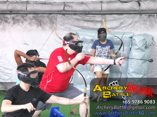 Archery Tag at The Cage 2016