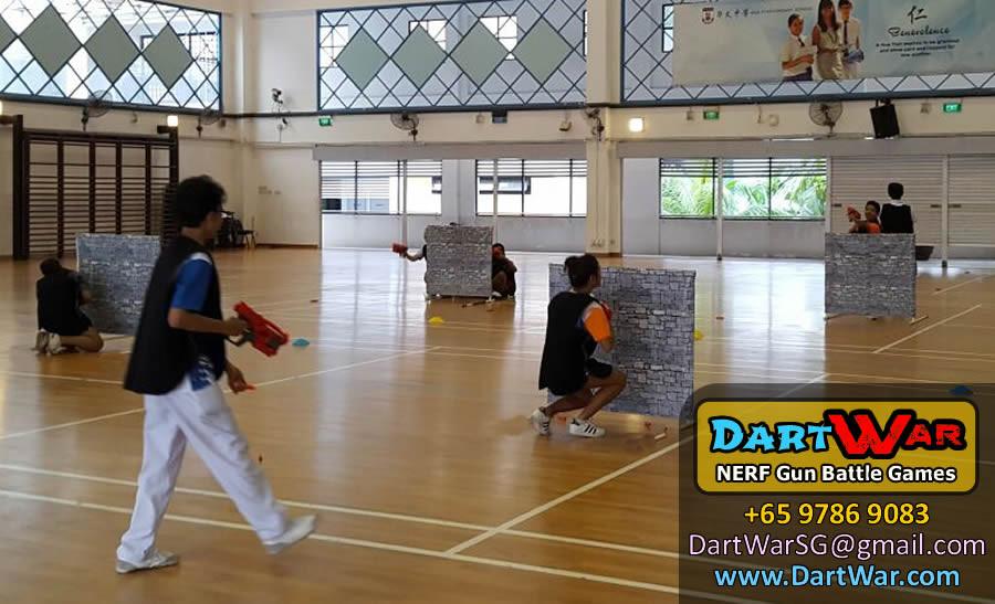 Split into 2 teams - Dart War NERF Gun Party & Team Building