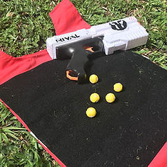 NERF Rival Velcro Bullets for scoring team building Singapore