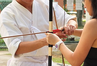 Samurai Archery workshop in Singapore