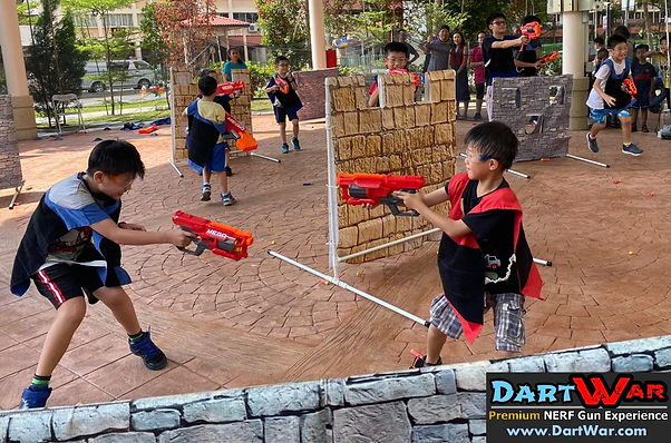 NERF event for kids in Singapore