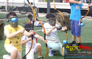 Archery Tag Boys' Birthday Party At Zion Sports Club