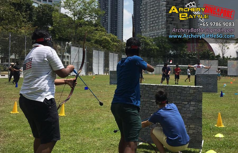 Archery Tag Singapore Carnival Event - come and me bro!