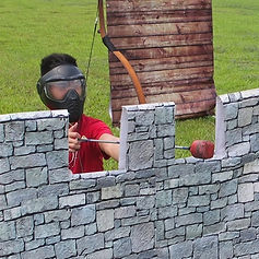 Special Castle Walls Mission Mode designed by Battle Archery Tag Singapore
