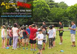 Birthday Party Archery Tag Singapore