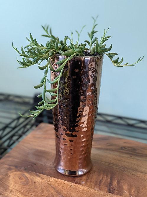 Tall Copper Vase