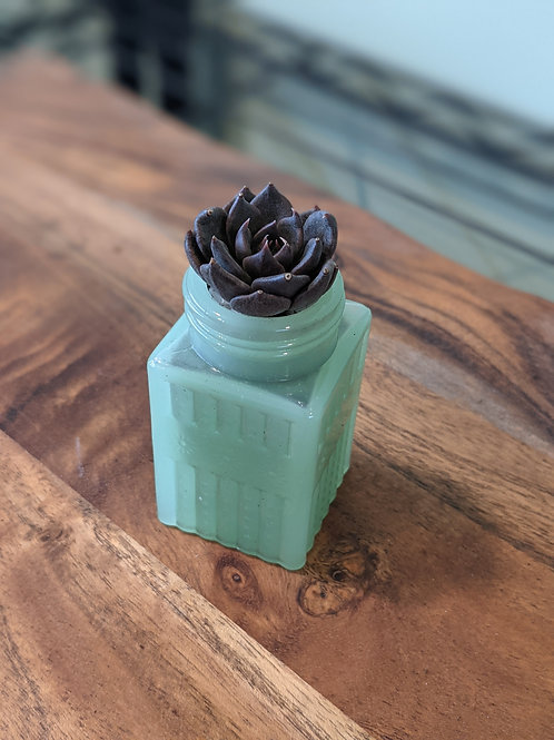 Jade Glass Small Shaker