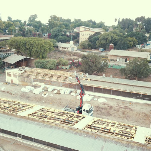 פירוק גגות לולים